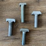 4.8 grade low carbon steel t head bolt