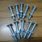 4.8 grade low carbon steel roofing bolt with nut