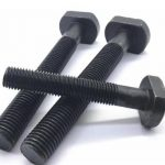 8.8 grade t head bolt black oxide
