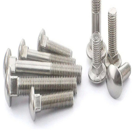 Stainless Steel Carbon Steel Flat Head M4 M6 M8 M10 Carriage Bolt