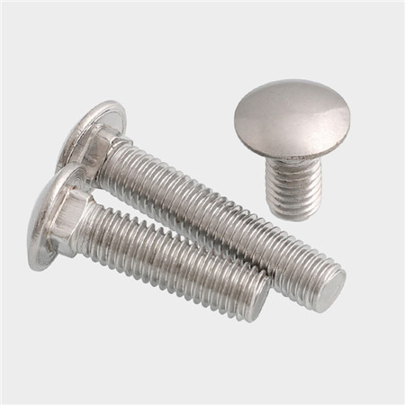 Low carbon steel grade 4.8 metric Carriage bolt