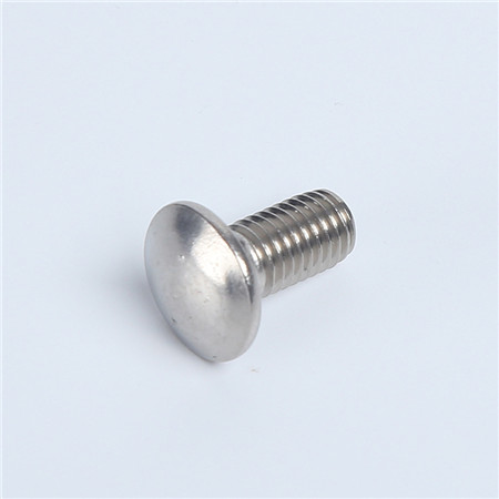 Factory Price Custom Carbon Steel Zinc Plated Flat Head Carriage Bolt