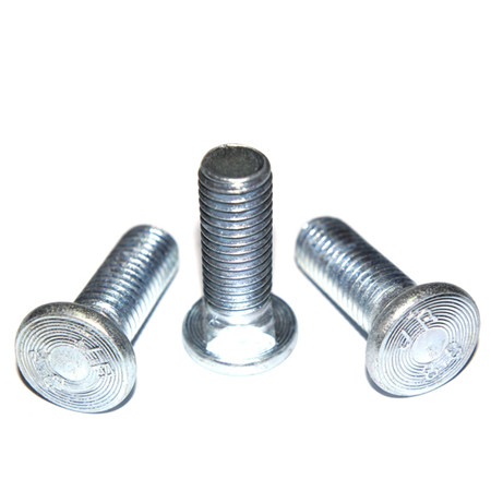 China Big Factory Good Price flat head socket bolt slotted stainless steel chicago screw short square neck carriage bolts