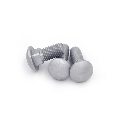 Mushroom head short neck hardened fastenal stainless steel carriage bolts
