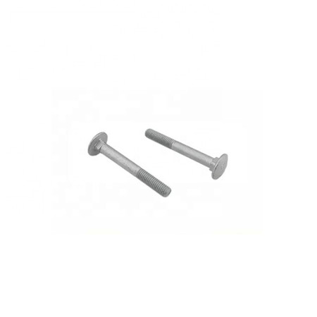 High quality M10 M12 M24 Galvanized Steel Zinc Plated HDG Carriage Bolt DIN603