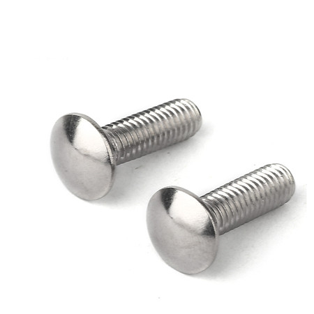 High Tensile Hardened Steel Carriage Bolt With Hex Nut