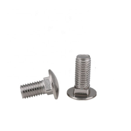 round head carriage bolts grade 8.8 bolt carbon silver