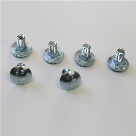 Hot Dipped Galvanised HDG flat head Cup Head Carriage Bolt/ mush room head short neck bolt