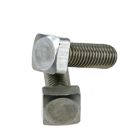 Zinc-Plated Metric Ribbed Neck Carriage Bolt