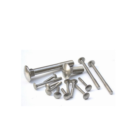 China supplier black steel special square head bolt