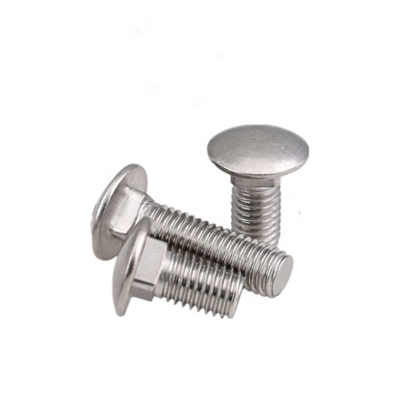 hot sale aluminum carriage bolts and stainless steel Carriage bolt DIN603 for sales