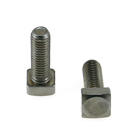 M10 X 50 grade 8.8 zinc steel square neck carriage bolt
