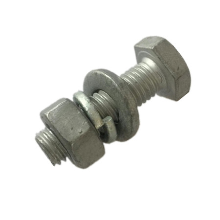 DIN603 carriage bolt M6*16 M8 M10 M12 zinc plated chinese factory with cheap price