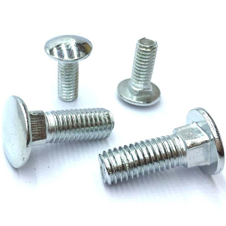 Carriage bolts grade 8.8 dongguan manufacturer