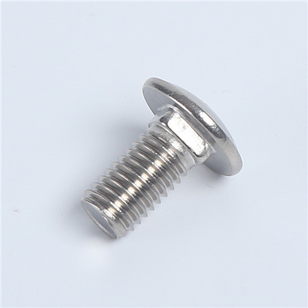 Din603 Bolts And Nuts GB14 Carriage Bolt Square Neck Bolt Nut Stainless Steel 304 A2-70 8x40mm