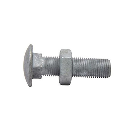 DIN 603 hot sale carbon steel zinc plated full thread mshroom head square neck carriage bolt