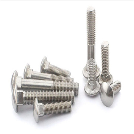 Carbon Steel Zinc-Plated Ribbed Neck Knurled Carriage Bolt