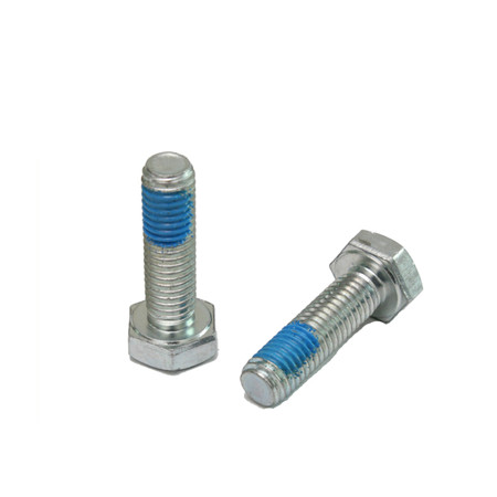 Ruowang Carriage bolt mushroom bolt white zinc DIN INCH
