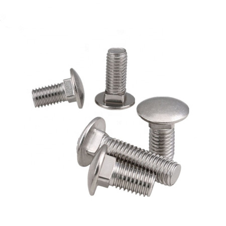 din 603 (m5-m20) flat head titanium carriage bolt