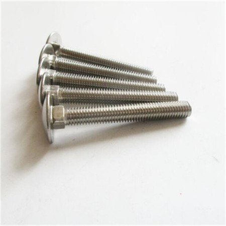 China wholesale din 604 carriage bolt with ASTM DIN JIS Standard