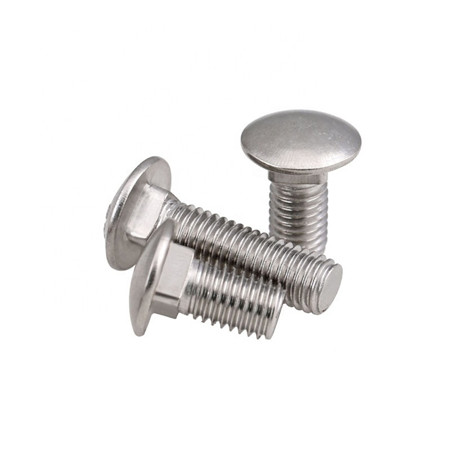SS 304 truss head carriage bolts din603 m4