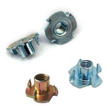 Claw nut carbon steel zinc plated