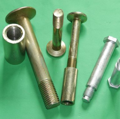 Counter sink machine bolt with sleeve round coupling nut assembled