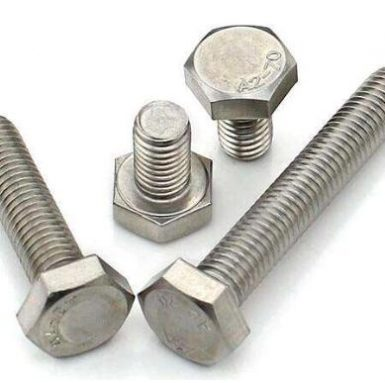 DIN933 hex bolt A2 70 stainless steel 304 and 316