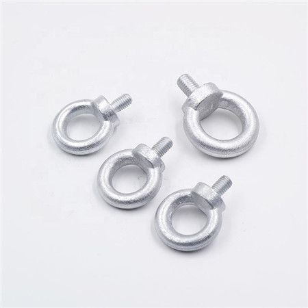 Wholesale DIN 580 Galvanized Metal Suppliers M4 Swivel Screw Stainless Steel Oval Lifting Eye Bolts