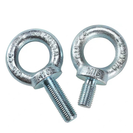 One-Stop Service M4 Nuts And Bolts 5mm 12mm Stainless Steel M5 M4 M6 M8 M10 M14 Eye Bolts And Nuts