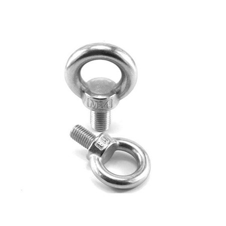 Gb Stainless Metric Bolts Fastener Factory Supplies Eye Bolt Metric GB 798 Stainless Steel Eye Bolt