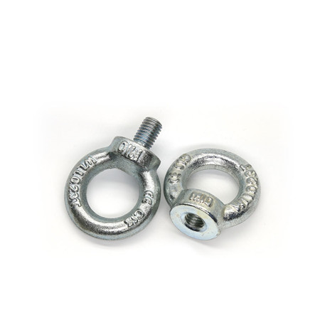 M6 M8 M10 Small Carbon Steel Screw Eye Bolts Eye Bolt