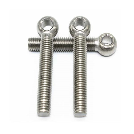 High quality stainless steel din444 lifting m2 m4 small eye bolt