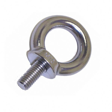 Iso Through Bolt 12Mm Eye Bolt Round Head Galvanised Eye Bolt Welded Eye Bolt M8