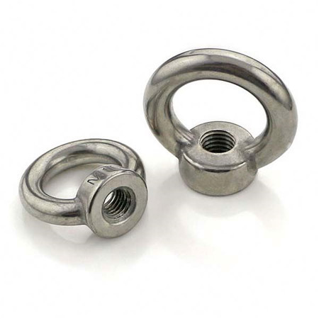 Heavy Duty Stainless Steel M20 Eye bolts and nuts