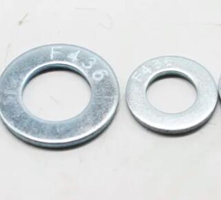 F436-structural washer zinc hdg mech galvanized