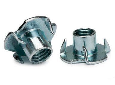 DIN1624 four claw nut carbon steel zinc