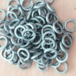 Hot dip galvanized spring washer
