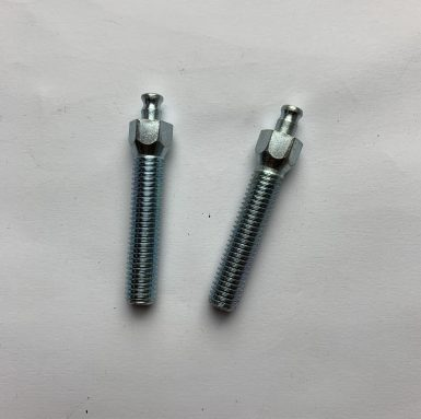 Lathe turning head with hex shank machine screw