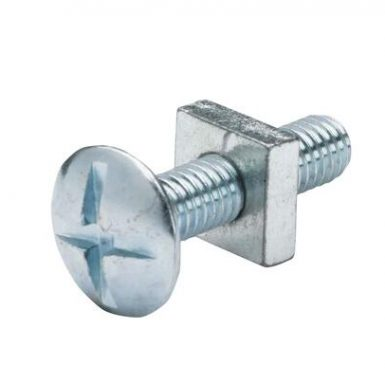 GR 4.8 zinc plated roofing bolt