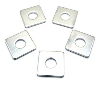carbon steel zinc square washer