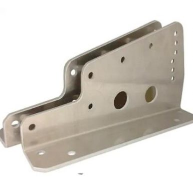 Welding and stamping bracket for seat