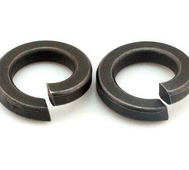 Black oxide plain spring washer DIN127 DIN128