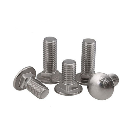 Competitive price stainless steel dome head bolt m6 DIN GB
