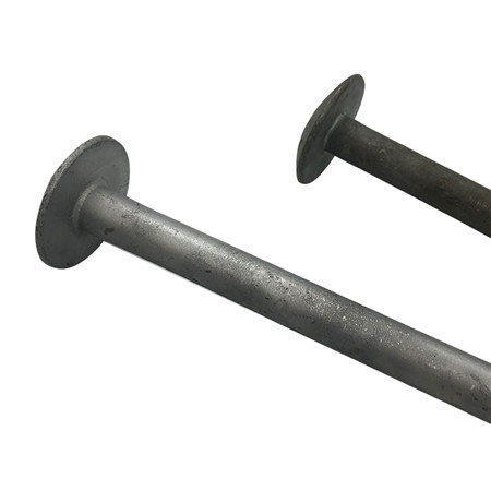 Rail Inserted Concrete Sleeper Screw Bolt Plastic Dowel Fastener