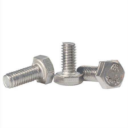 bearing roofing screw with square nut/mushroom head bolts