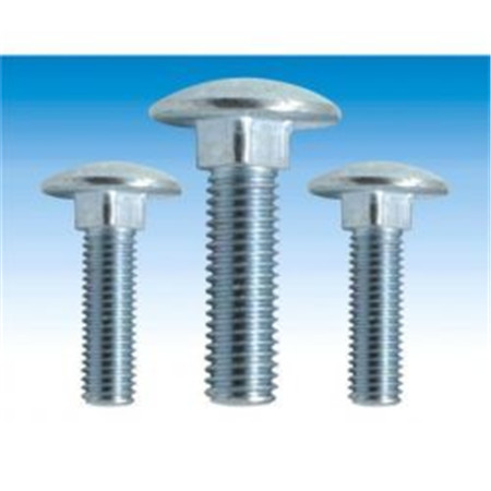 Steel hot dip galvanized timber bolts/crane mat bolts