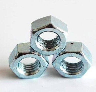 A563 Gr A zinc plated hex nut DIN934